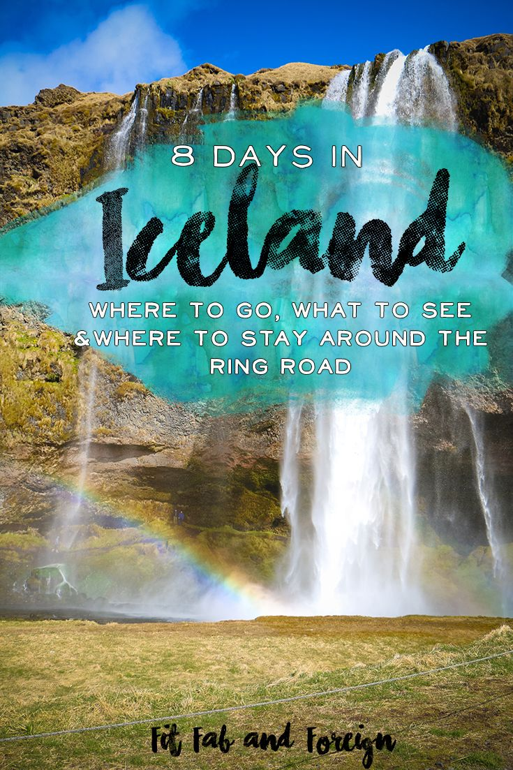 8 Day itinerary for Iceland's ring road! What to do, where to stay and what to eat in Iceland! Tons of helpful tips as well :)