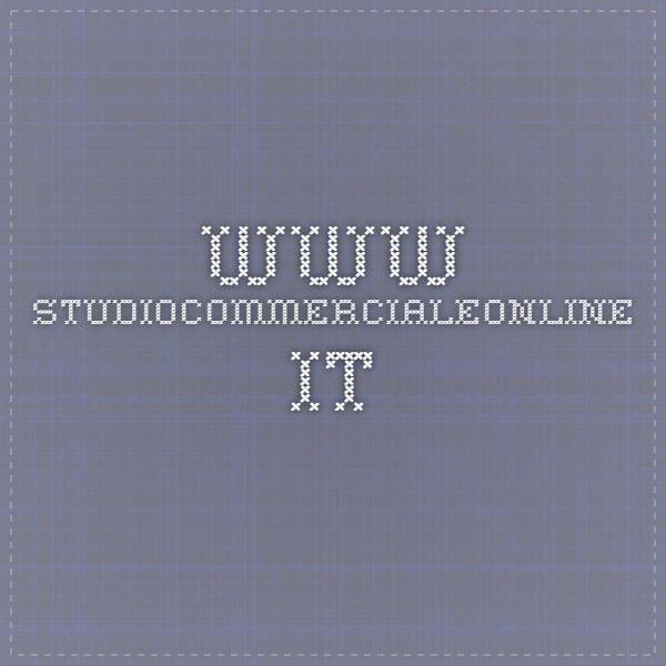 www.studiocommercialeonline.it