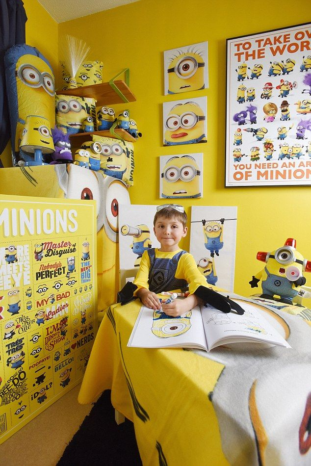 is this every childs dream bedroom minion mad brothers ask their mother for a room themed like their favourite characters and this is what she did
