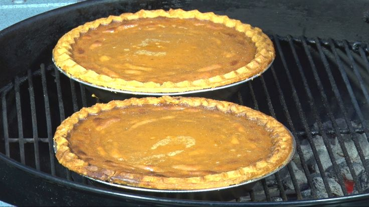 Cinnamon Whiskey Pumpkin Pie Recipe | BBQ Pit Boys Whisky Pie is the perfect dessert for that holiday barbecue you have going on at your Pit. Check out how to make this easy to prepare and grill Cinnamon Whiskey Pumpkin Pie, as shown by the BBQ Pit Boys