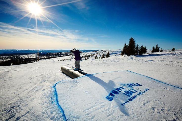 Storefjell Ski and Sledding Center - Gol, Norway