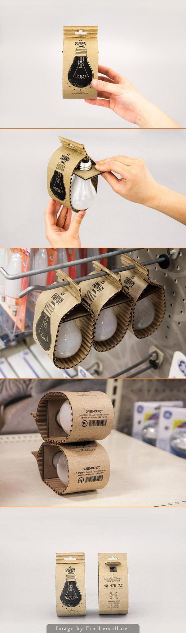 Este #packaging ecológico con materiales respetuosos con el medio ambiente fue diseñado por Hyunseo Yoo basándose en las 3R: reducir, reusar y reciclar. Para crearlo usó cartón grueso y corrugado reciclables. Se minimizaron los materiales para reducir la cantidad de residuos, por lo que no utilizó plástico, ni grapas, ni otra caja para contener al primero. Inclusive en el diseño a una tinta se observa la economía de recursos. https://www.facebook.com/EstrategiayCreatividad?ref=hl