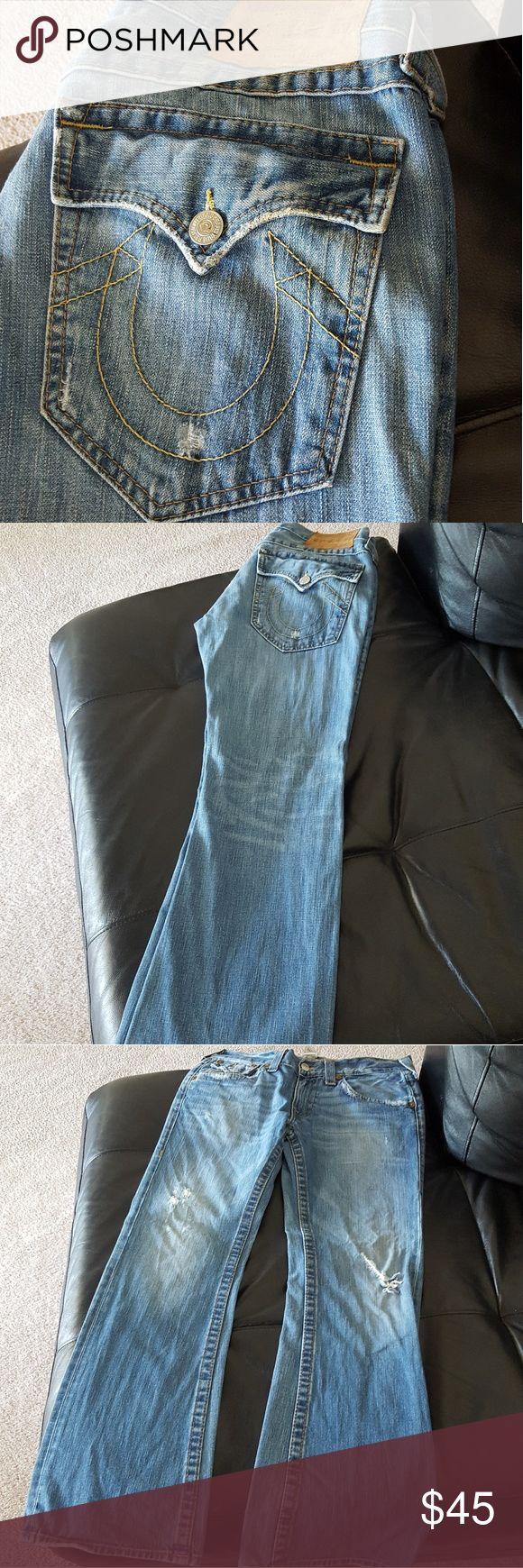 Men's True Religion Jeans Light denim True Religion Jeans Straight