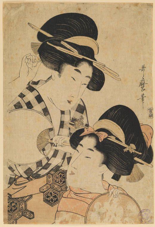 """Na segunda metade do século XIX a circulação de estampas japonesas ajudou a quebrar finalmente as amarras artisticas das academias. Assim o """"japonismo"""" foi um dos principais factores para o surgimento da Arte Nova"""
