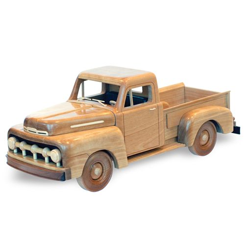 Wooden Trucks Toys And Joys : Ford f  patterns kits trucks