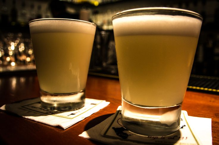 First pisco sours From the Pisco Museum, Cusco. Didn't see much Museum but we did frequent the bar. A lot.