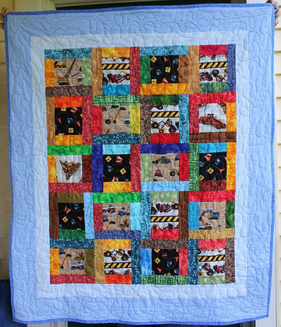 1000 Ideas About Tractor Quilt On Pinterest Children S