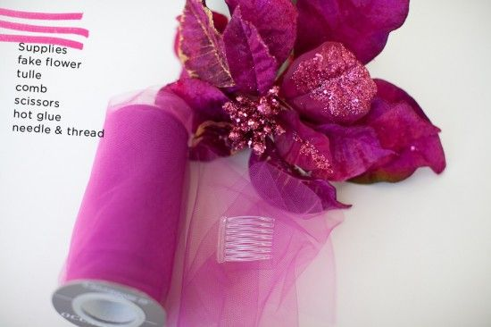 How to Make a Sparkly Floral Fascinator (16)