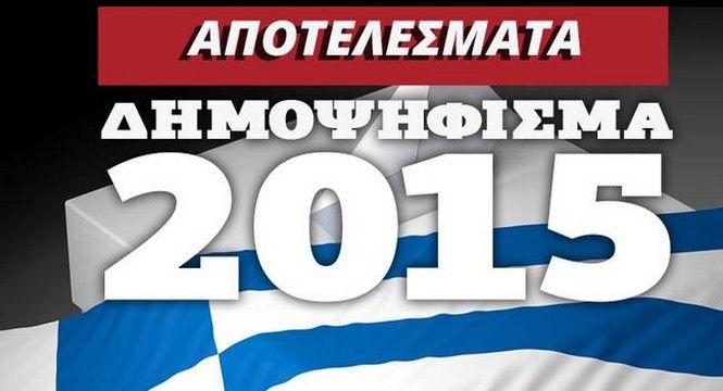 Αποτελέσματα δημοψηφίσματος 2015: Δείτε LIVE τα αποτελέσματα