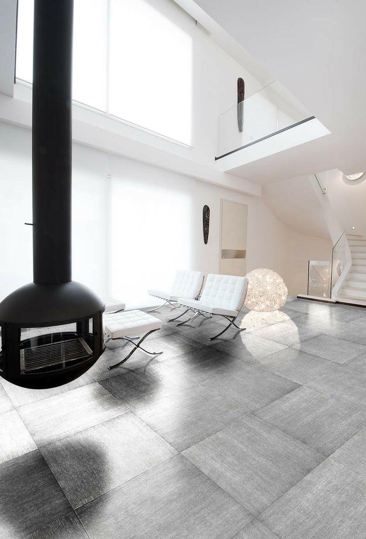 Pavimento in legno Silver Oak #design #interior #wood #quadrolegno #madeinitaly