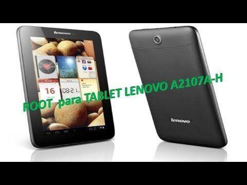 ROOT para TABLET LENOVO A2107A H 100% efectivo. - YouTube