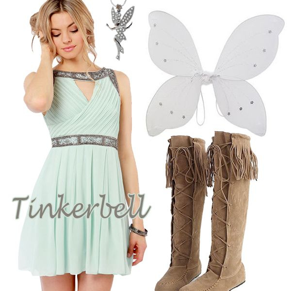 Fairy Princess Tinkerbell Halloween Costume  sc 1 st  Pinterest & The 17 best images about Disney on Pinterest
