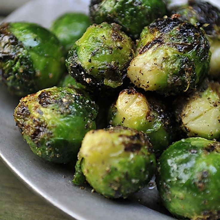 Grilled Brussels Sprouts recipe on Food52