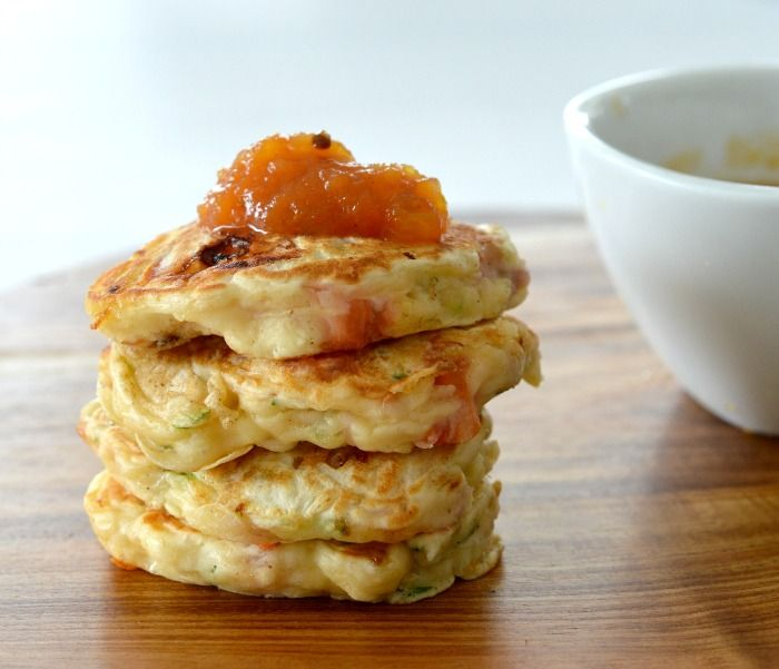 These Ham, Cheese and Zucchini Pikelets are a great savoury snack, they are freezer friendly AND they can also be made using a Thermomix!