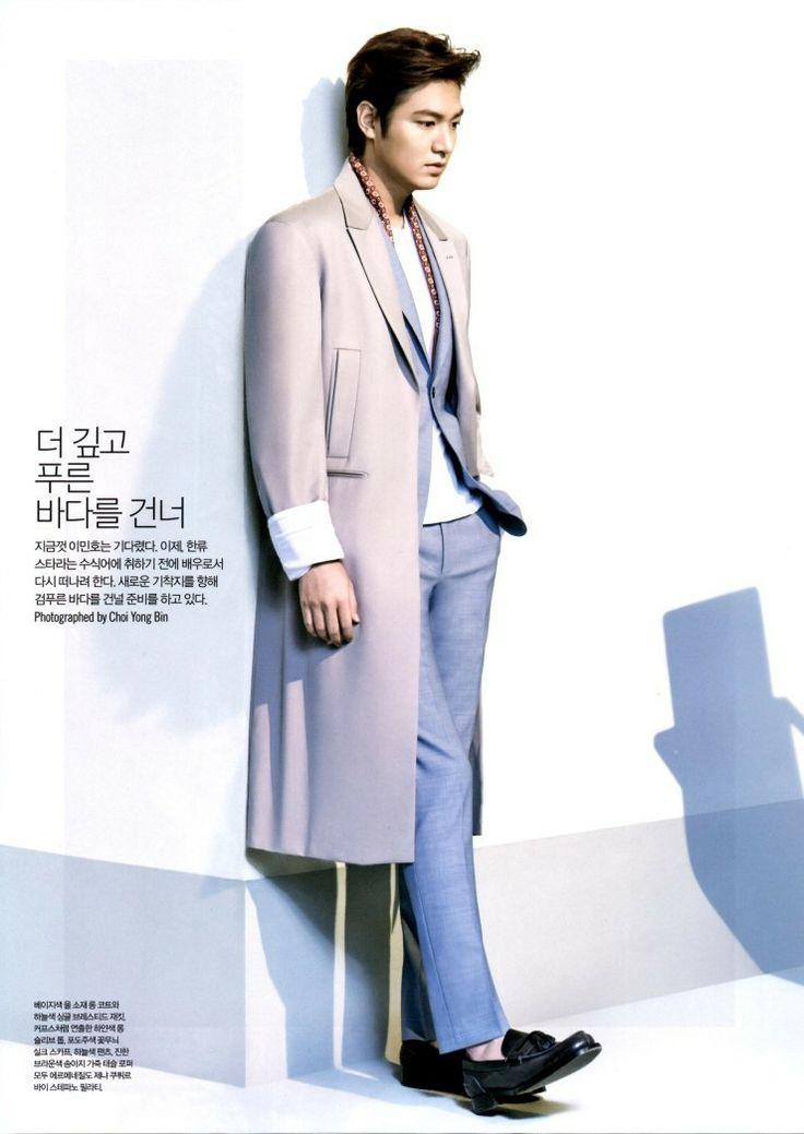 cr:letto_ @ Naver blog  Minho for L'Officiel Hommes 5/9