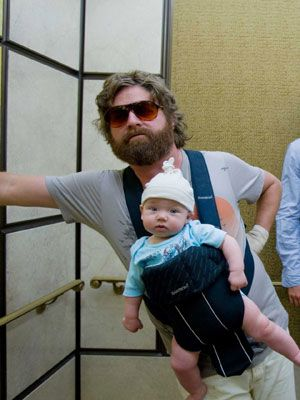 Alan (Zack Galifinakis) cant wait for hangover part 3 tomorrow.