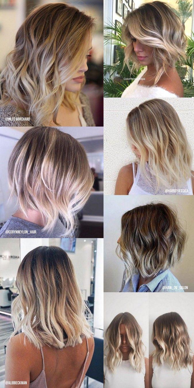A balayage é uma coloração permanente que procura dar um efeito natural ao cabelo, dando um contraste bonito entre a cor base do cabelo e o tom mais claro em zonas propositalmente escolhidas. Luzes e mechas geralmente dão um resultado mais marcado e artif