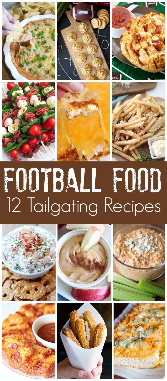 Football Food Tailgating Recipes