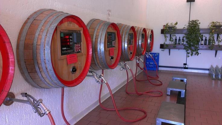 Distributori di Benzina Ops! di vino!
