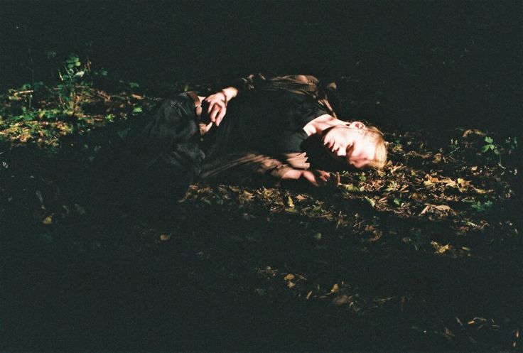 #analogcamera #boy #autumn #forest #photography