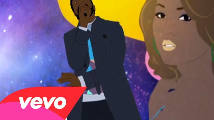 Kanye West went through a stage in his career when he adopted the cartoon virtual appearance.  He has changed how he is as an artist a lot which consequently has differed albums and music videos.