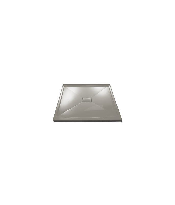 Kohler K-9395 Center Drain Shower Receptor from the Archer Series Cashmere Showers Shower Pans Single Threshold