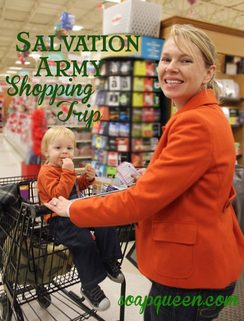 Salvation Army Shopping Trip 2012
