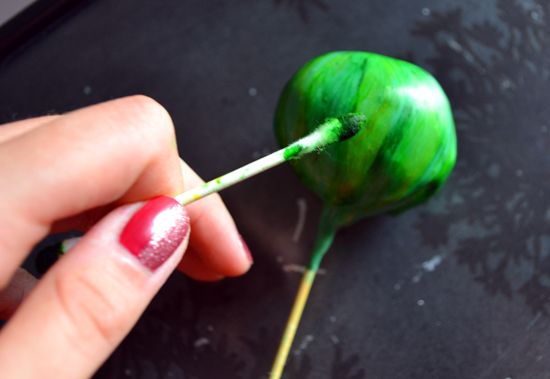how to for watermelon cake pops