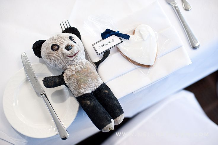 Wedding Details. Using people's favourite Children's toys as the Name Holders is a cute way to add personality. Wedding Favours at Cottons Hotel & Spa, Knutsford, Cheshire.