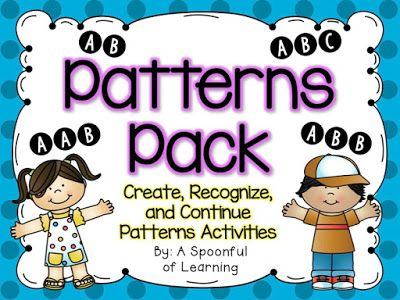 A Spoonful of Learning: Patterns Pack!!