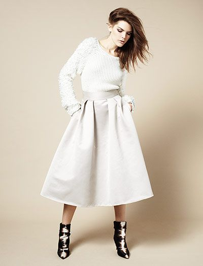 Credit: Daniel Nadel/Observer Full skirtWith a circular cut and falling below the knee, the dirndl skirt is the style ...
