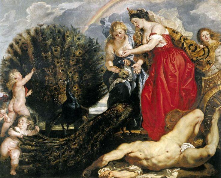 Питер Пауль Рубенс. Юнона и Аргус, 1611 г.