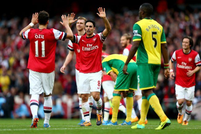 Arsenal pretty much had enough in the tank to see off a Norwich side that played energetically but they were not able to score a goal.