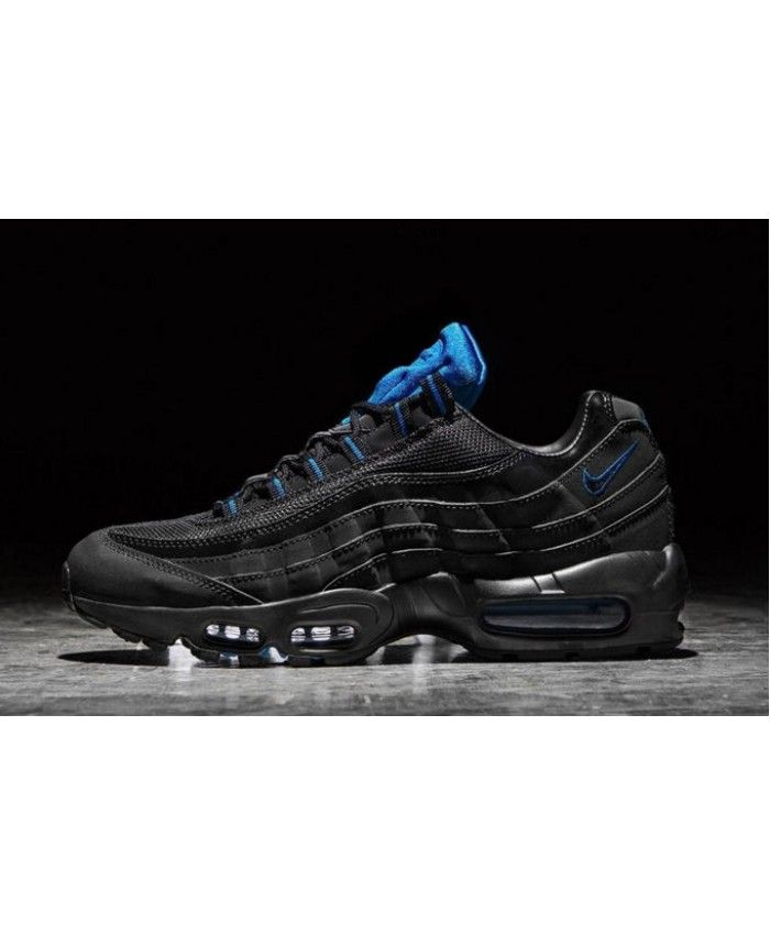 Nike Air Max 95 Classic Black Dark Blue Trainer