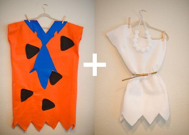 Fred and Wilma Flintstone--Couple's Halloween Costume