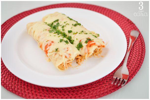 enchilada de frango