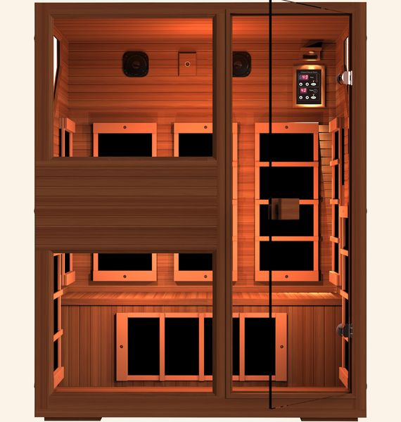 die besten 25 infrared sauna for sale ideen auf pinterest yoga f r anf nger anf nger. Black Bedroom Furniture Sets. Home Design Ideas