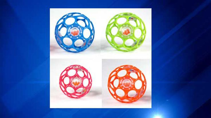 The U.S. Consumer Product Safety Commission issued a recall on Thursday for a baby rattle due to a possible choking hazard.