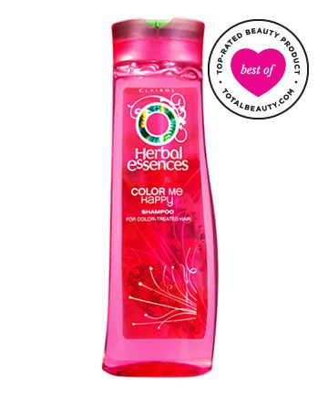 """No. 12: Herbal Essences Color Me Happy, $3.99    Readers agree that this product has an amazing fragrance and adds shine to color-treated hair. It also helps protect hair from the elements. According to one reviewer, """"It keeps my hair color rich-looking when I go in the sun."""" Another reviewer adds, """"This shampoo does not dry my hair out or weigh it down."""""""