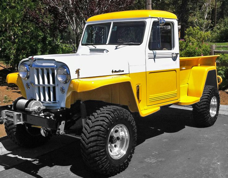The 25 best jeep pickup ideas on pinterest jeep pickup for Garage 4x4 ain