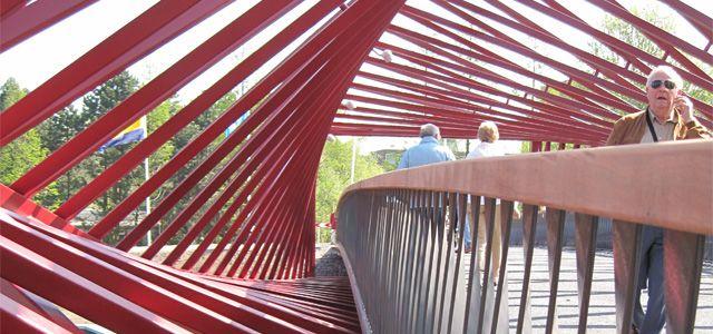 Bridge Vlaardingse Vaart by WEST8