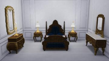 Mod The Sims - Dark Lux Bedroom from TS3 - 12/12/17 Patch Fixed