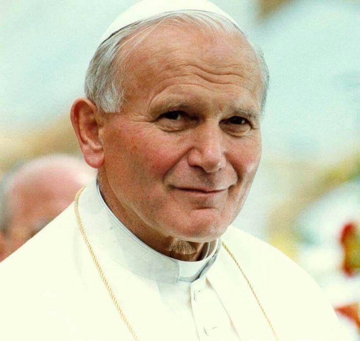 We love you Saint Jean Paul II.