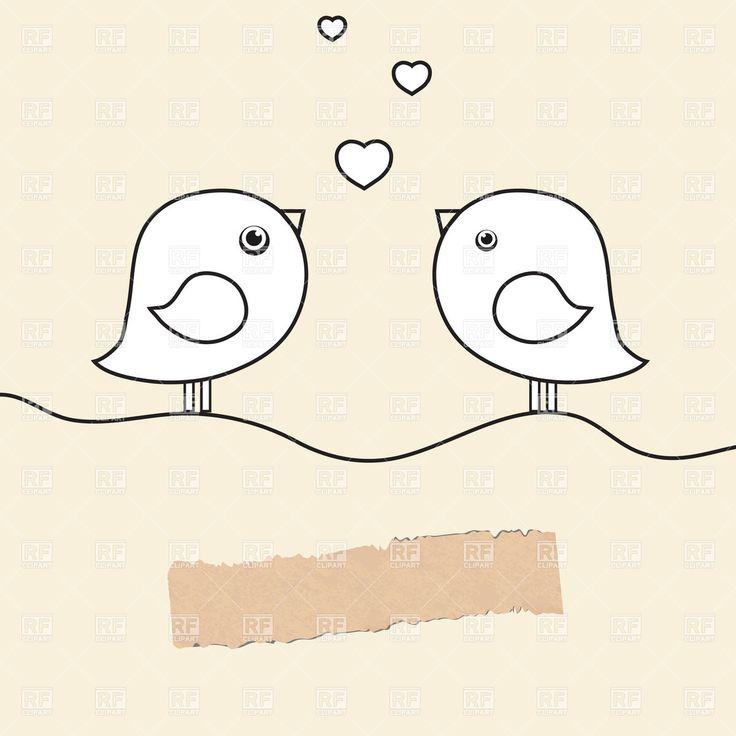 As 25 melhores imagens em learn to draw no pinterest taa de vinho wedding birds clipart cliparthut free clipart fandeluxe Choice Image