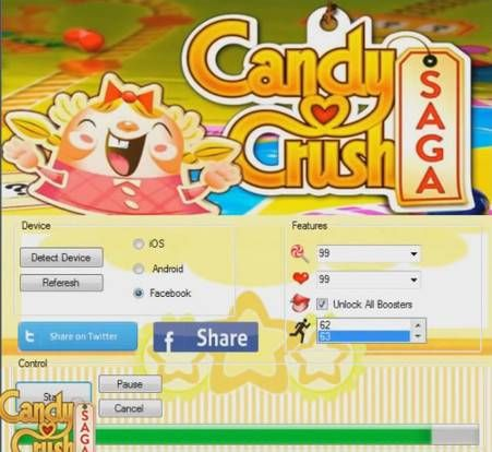 Acquire candy crush saga hack. Along with direct download link of candy crush sage hack tool and also .apk file you can enjoy the games to the maximum potential.