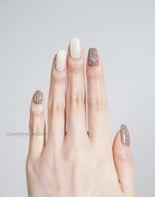 Warm happiness #nailart #nail #beauty #chahongardor