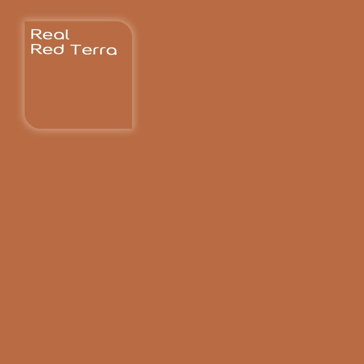 Pure by Flexa Colour Lab® kleur: Real Red Terra. Verkrijgbaar in verfspeciaalzaken.
