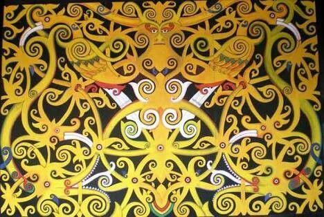 Batik Kalimantan tengah