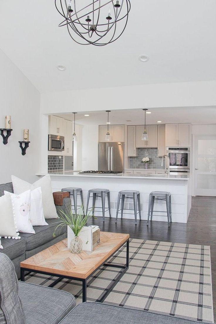 super bauernhausstil wohnzimmer und küche deko ideen #bauernhausst