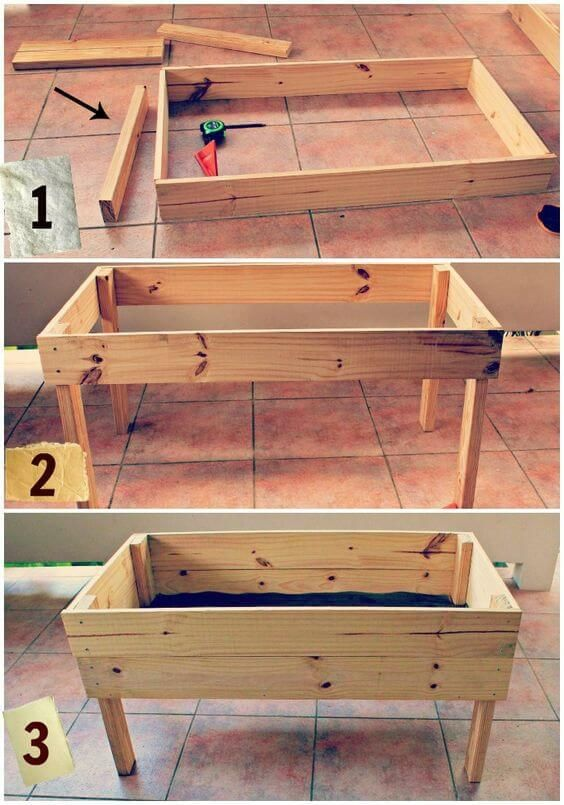 17 Best ideas about Elevated Garden Beds on Pinterest Diy raised